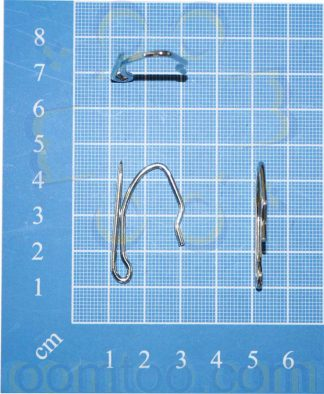 standard 2081 pin curtain hooks